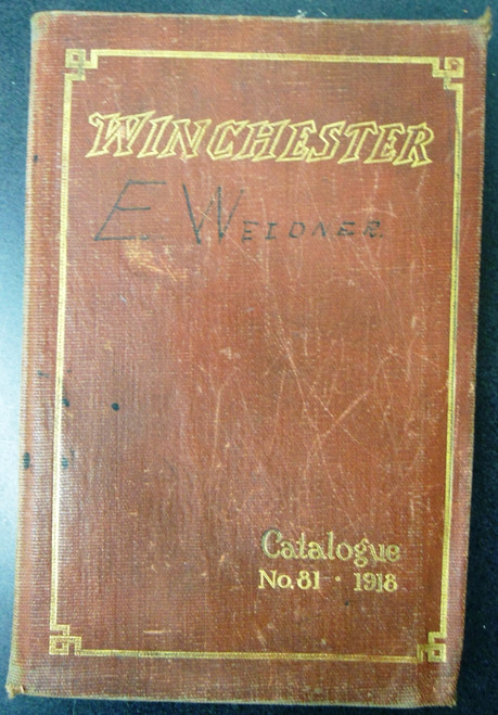 Winchester Catalog No. 81 * 1918 - Salesman's Copy