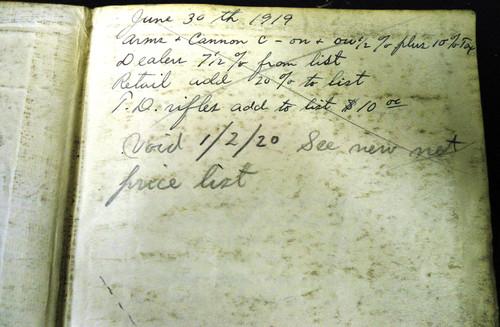 Winchester Catalog No. 81 * 1918 - Salesman's Copy