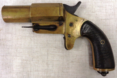 French Model 1917 Chobert 25mm Flare Gun