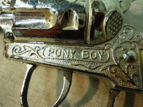 Pony Boy Cap Gun circa 1960's