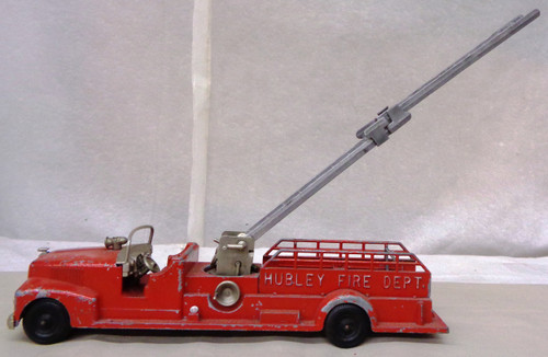 Hubley Fire Dept. Toy Ladder Truck #520