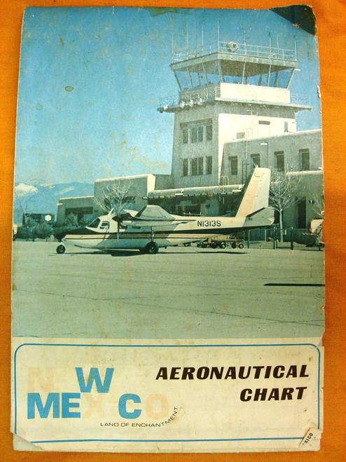 New Mexico 1969 Aeronautical Chart