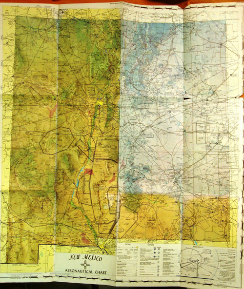 New Mexico 1969 Aeronautical Chart
