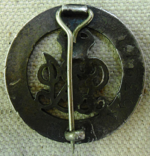 British WWI Silver War Badge