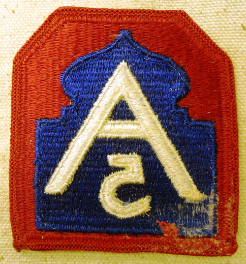 U.S. 5th Army Patch
