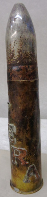 1901 Dated Trench Art Shell