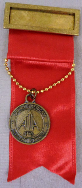 Amateur Trapshooting Assoc. Grand American Medal 1973