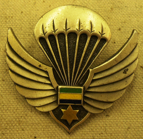 Gabon Para Wings Hat Badge