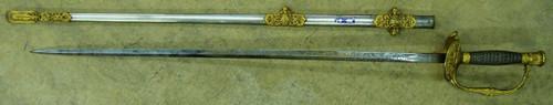 U.S. M1860 Staff & Field Officer's Sword w/Scabbard