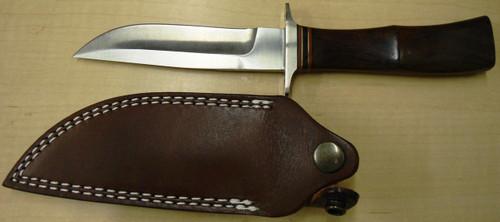 A.G. Russell Shopmade Knife w/Sheath