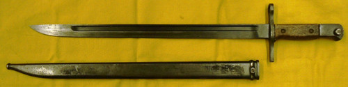 Japanese M1897 Arisaka Bayonet w/Scabbard