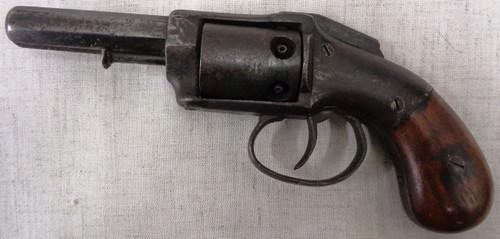 Allen & Wheelock Large Frame 32 Perc Pocket Revolver