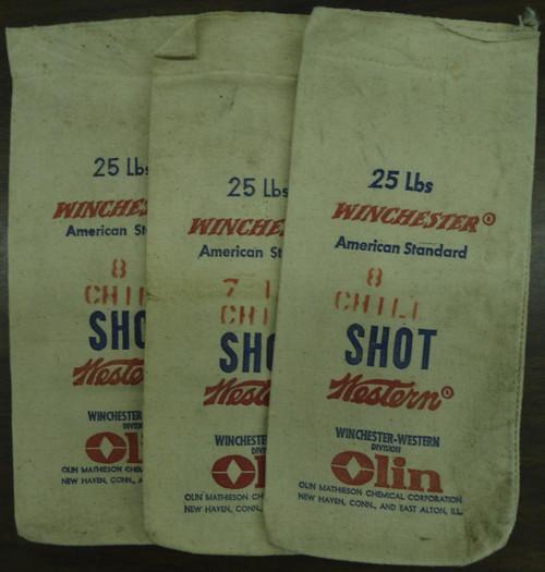 Winchester American Standard Shot Canvas Bag - set of 3