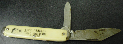 Elvis Presley Souvenir 2-Blade Pocket Knife
