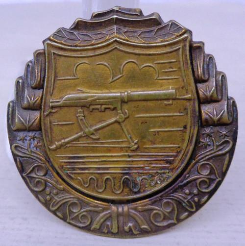 Czech Army Machine Gun Proficiency Badge