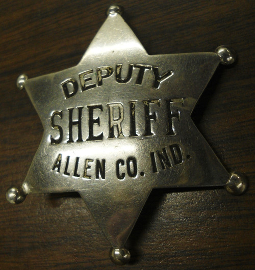 John Gray Deputy Sheriff Badge & Pictures w/History