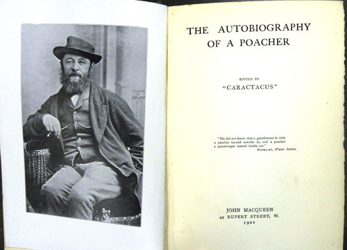The Autobiography of a Poacher by Caractacus title page