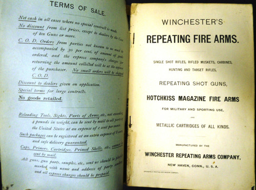 Winchester Catalog February 1893