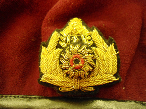 Cambodian Special Forces Beret w/Hat Badge