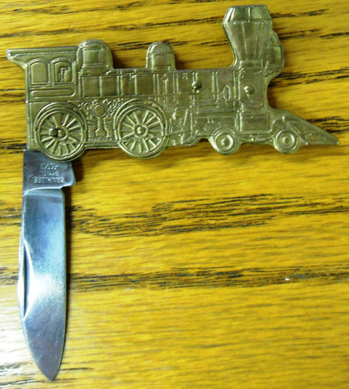 Novelty Locomotive/Train Shape Pocket Knife
