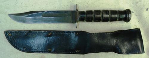 U.S. Camillus Fighting Knife w/Scabbard