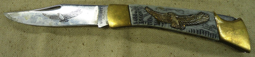 Japan Commemorative Eagle Pocket Knife