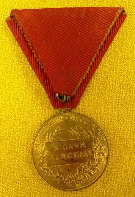 Austrian Signvm Memoriae Medal