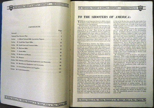 The National Target & Supply Co. Handbook and Catalog