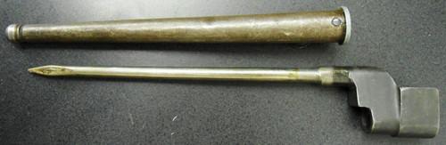 British No. 4 Mk II Bayonet with Scabbard
