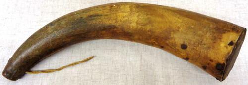 "Powder Horn - 14"" - Dated 1772 & 1774"