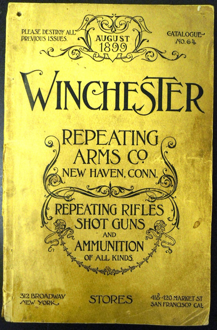 Winchester Catalog No. 64 August 1899