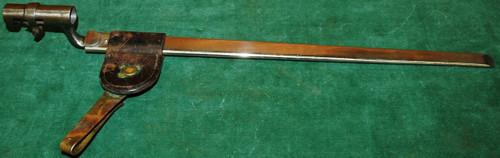 U.S. M1873 Springfield .45-70 Trapdoor Bayonet w/Scabbard & Frog