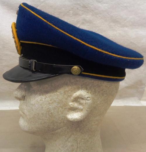 Paraguay Navy Officer's Cap w/Hat Badge