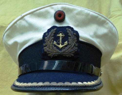 West Germany Navy Jr. Officers Visor Cap with Hat Badge