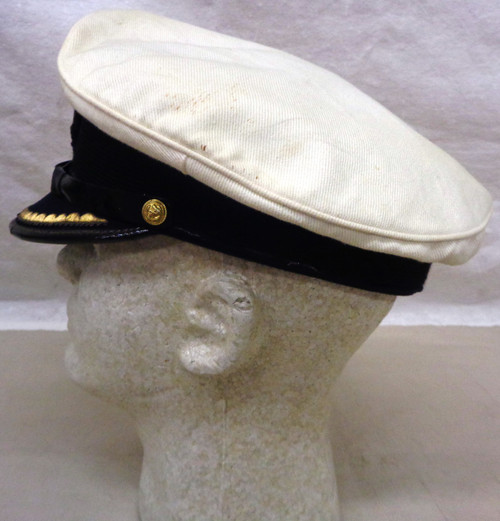 West Germany Navy Jr. Officers Visor Cap with Hat Badge