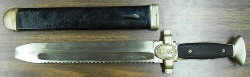 German WWII Red Cross Dagger with Scabbard