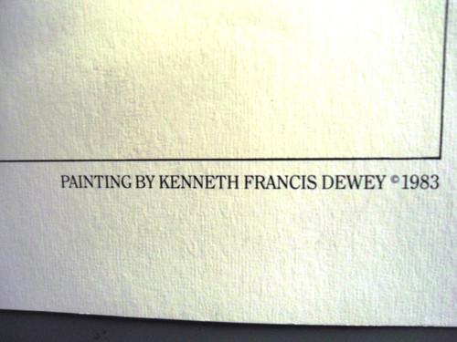 """Kenneth Francis Dewey """"1911 Colt"""" Print"""