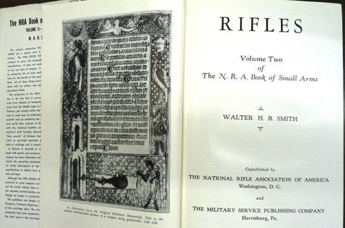 The NRA Book of Small Arms: Vol-II: Rifles by W.H.B. Smith