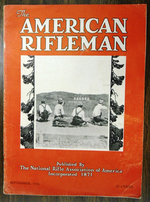 The American Rifleman - September 1934