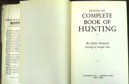 Complete Book of Hunting by Clyde Ormond