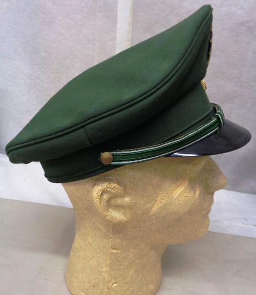 German State Police Nordrhein Westfalen Visor Cap with Hat Badge