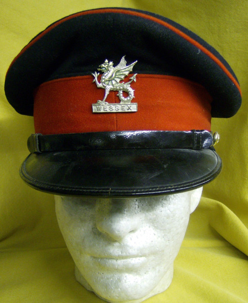 The Wessex Brigade Officers Cap with Badge