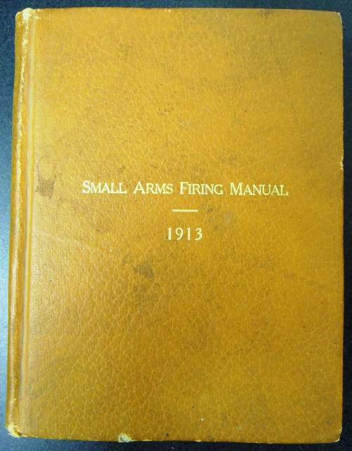 Small Arms Firing Manual 1913