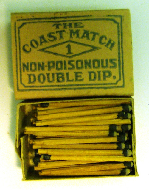 Diamond Coast Matches - 1910 - opened
