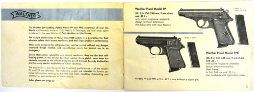 Walther PP Self-Loading Pistols Handbook