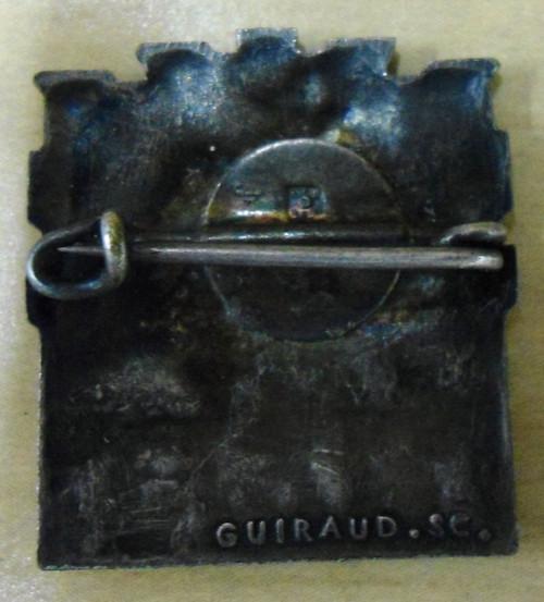 French FFI WWII Gloire Pin