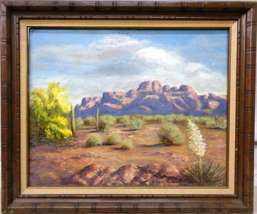 Grace McCray 1961 Oil on Canvas Framed Painting