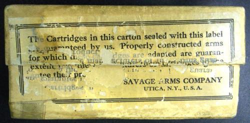 Savage .250-3000 Full Metal Case CF Cartridge Box & Ammo