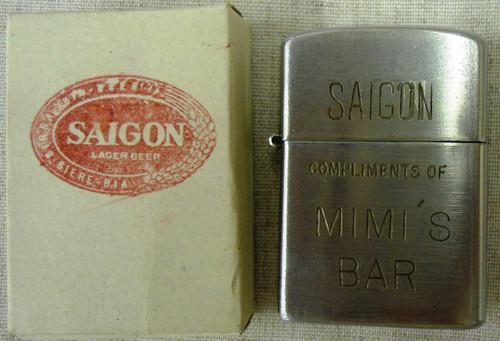 Saigon Lager Beer Heit Lighter made in Japan
