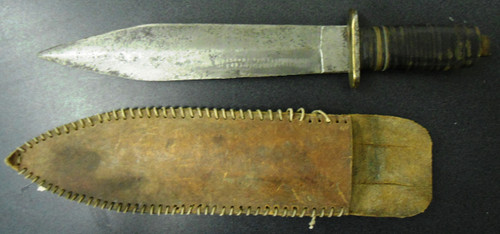 Theater Knife - WWII Era w/Sheath 1